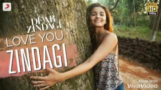Download Hindi Video Songs - Love you zindagi arabicsub مترجمه dear zindagi