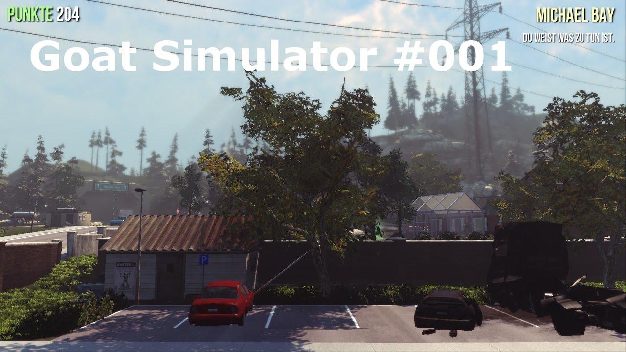 Goat Simulator 001 Ich Bin Eine Ziege Und Der Teufel