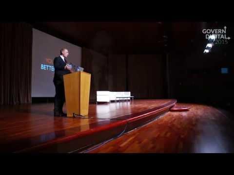 """""""Ponència magistral de Linnar Viik, impulsor de la transformació digital d'Estònia"""". CGD2015"""