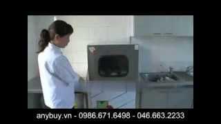 Máy rửa chén nhà hàng, máy rửa bát công nghiệp tự động