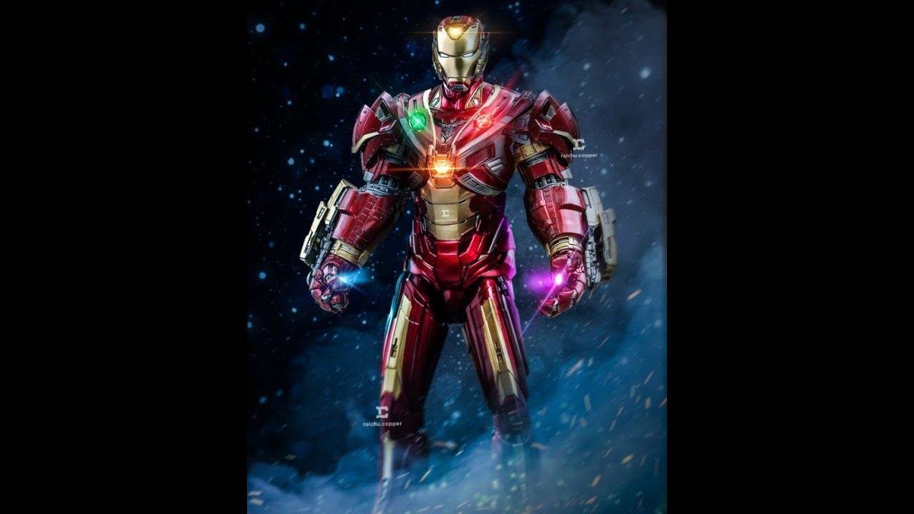 All Iron Man suited ups | Iron Man mark 51 - YouTube