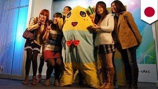 イケメンより、ふなっしーのほうが好き」。千葉県船橋市の非公認キャラクター「ふなっしー」、最近では海外でもファンを増やしているとの...