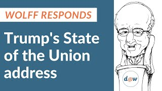 Wolff responds to Trump's State of the Union address