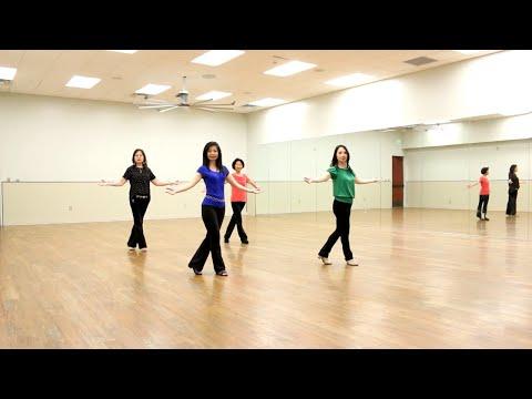 Thousand Times - Line Dance (Dance & Teach In English & 中文)