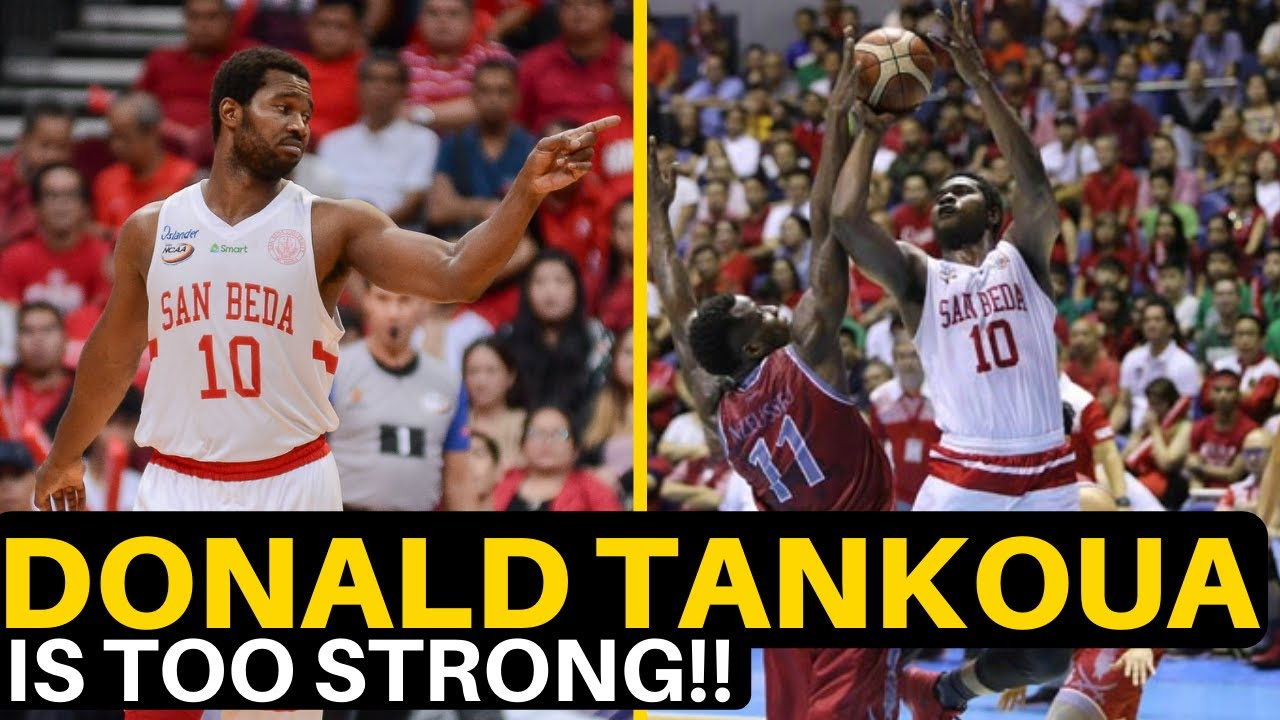 """Donald """"The Tank"""" Tankoua MOST DOMINANT Foreign Big in the Philippines?! 