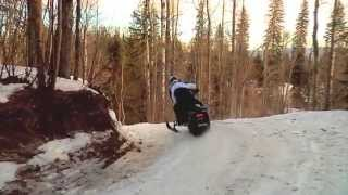 Whitecourt Alberta and the World Snowmobile Invasion