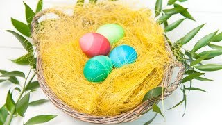 Градиентные яйца | Пасхальные яйца