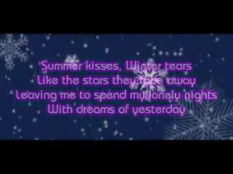 SUMMER KISSES, WINTER TEARS LYRICS - ELVIS PRESLEY