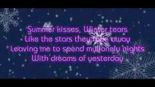 SUMMER KISSES, WINTER TEARS LYRICS - ELVIS PRESLEY