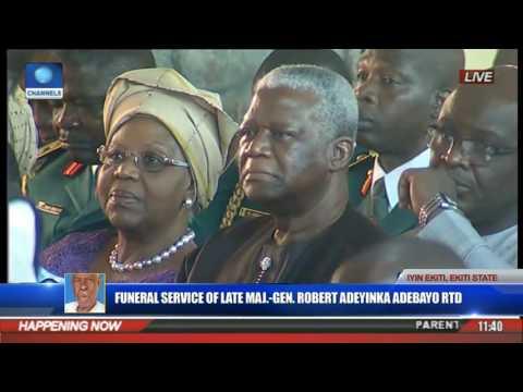 Funeral Service Of Major Gen Robert Adeyinka Adebayo Rtd Pt 2