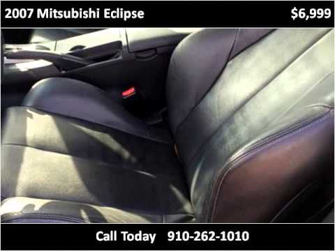 2007 Mitsubishi Eclipse Used Cars Wilmington NC