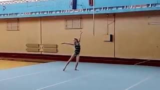 Вольные упражнения. floor exercise. gymnastics