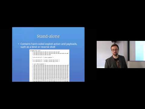 From Scanning to Exploitation: Computer Security Lectures 2014/15 S1
