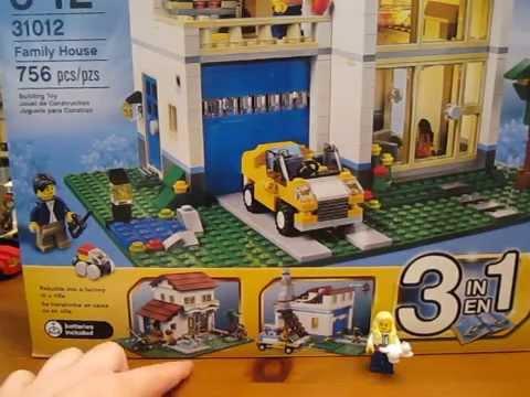 Lego Creator Set 31012 Family House Unboxing!
