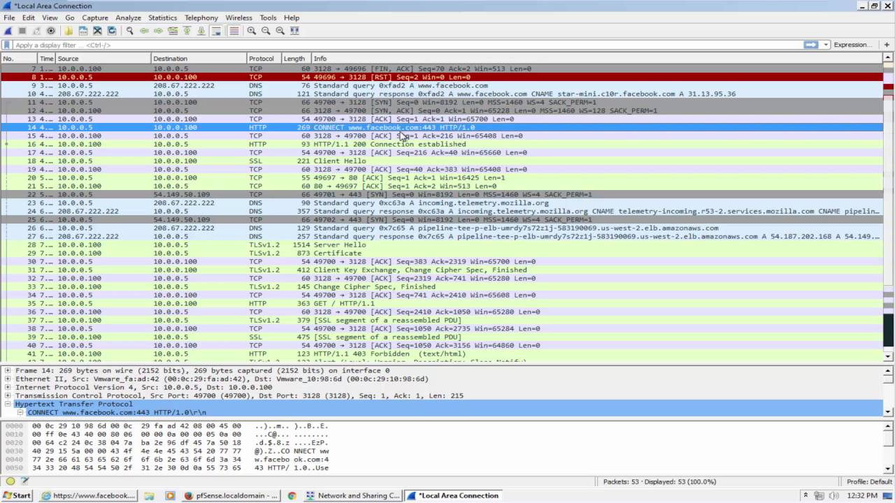 Pfsense: WPAD config & Web filtering without transparent mode  - Part 9
