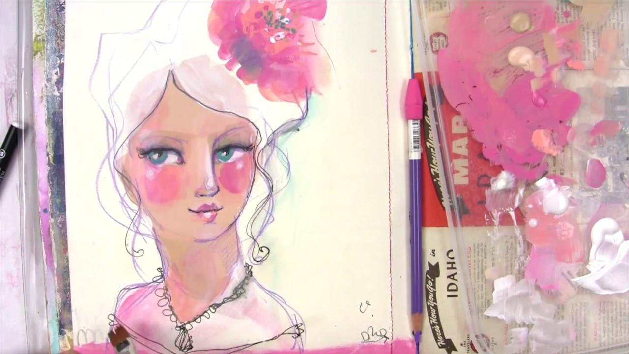 Jane Davenport Matte Acrylic Paint Sets Youtube