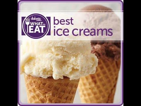 Best Ice Creams For Diabetic Patient  :)