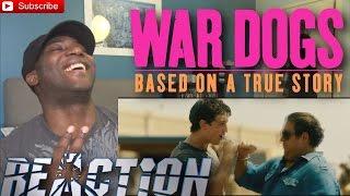 War dogs official trailer #1 (2016) miles teller, jonah hill reaction!!!