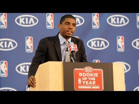 Irving takes home the KIA NBA Rookie of the Year Award!