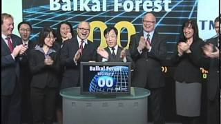 Baikal Forest (BFC:TSX-V) opens the TSX Venture Exchange, May 20, 2011.