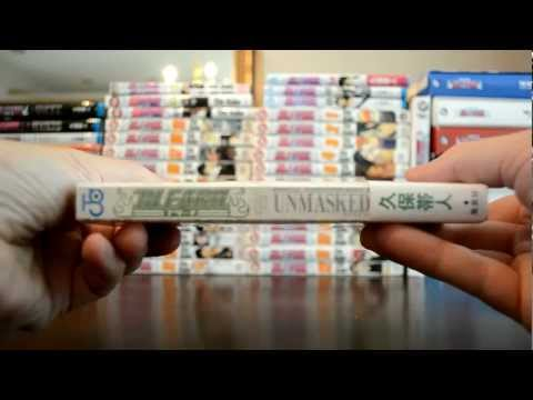 """unboxing-bleach-manga-""""unmasked""""-japanese-edition-video-review."""