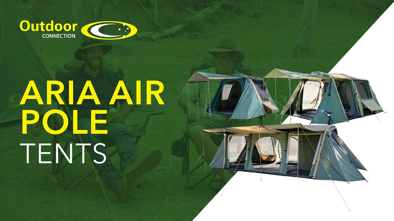 Aria Air Pole Tents Promotional From Outdoor Connection Hd