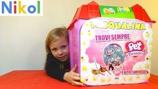 Николь открывает большой BOX с сюрпризами от Pet Parade , Violetta , Peppa Pig