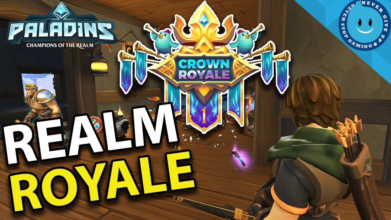 REALM ROYALE RELEASES ON STEAM! FULL GAMEPLAY AND ...