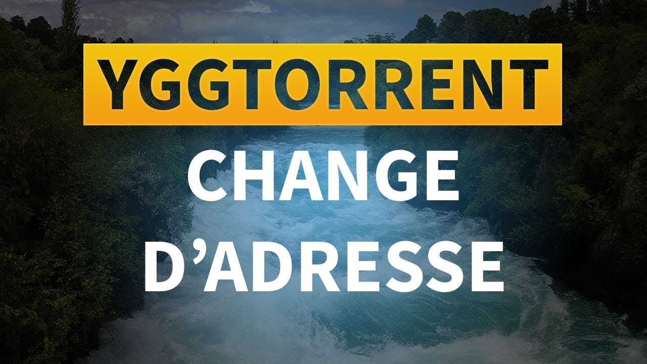 yggtorrent site inaccessible