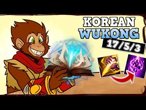 THIS NEW WUKONG IS ABSOLUTELY GENIUS! NEW WUKONG JUNGLE SEASON 8 GAMEPLAY! League of Legends