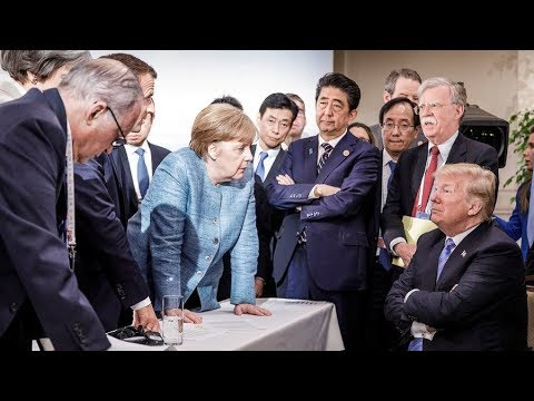 President Trump fought with some of America's closest allies during the G7 meeting in Canada.