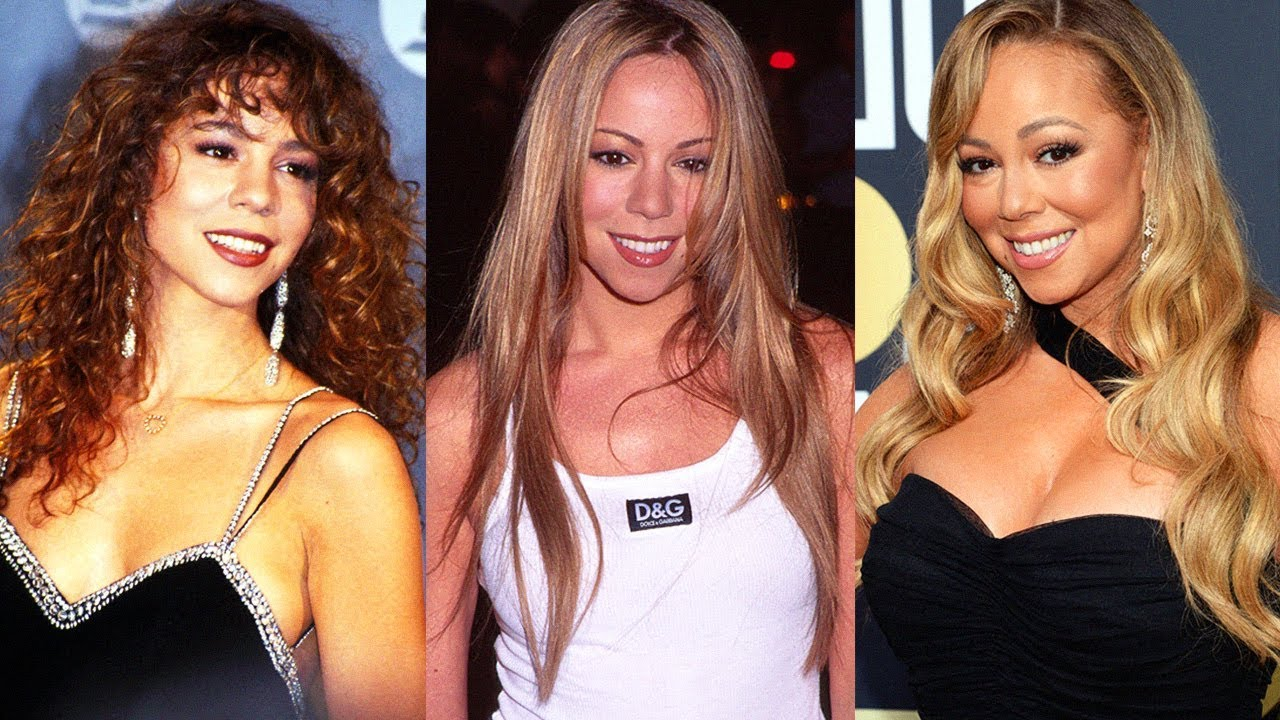 Mariah Carey S Hair Evolution 1990 2018 Youtube
