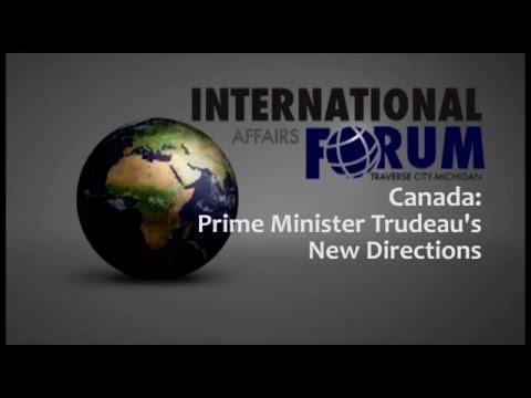 Canada: Prime Minister Trudeau