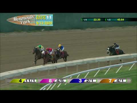 video thumbnail for MONMOUTH PARK 09-13-20 RACE 11