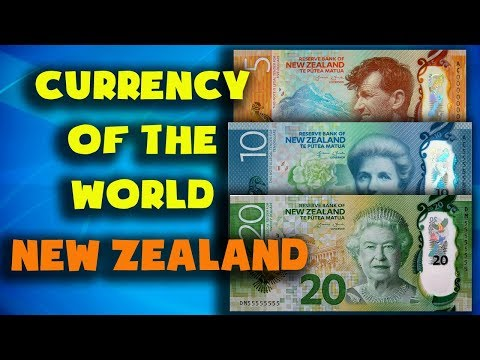 Currency Of The World - New Zealand. New Zealand Dollar. Exchange Rates New Zealand