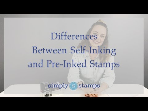 Differences Between Self-Inking and Pre-Inked Stamps