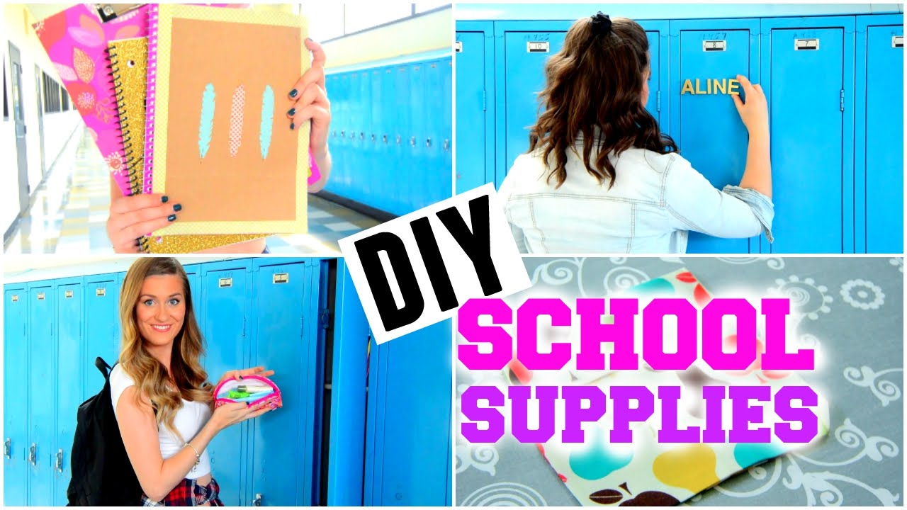 Diy School Supplies 2017 Locker Decoration Emergency Kit Sandwich Pouch And Notebook You