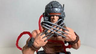 X-Men Marvel Legends Weapon X Caliban BAF Wave Action Figure Review