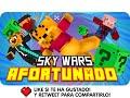 SKY WARS AFORTUNADO!   Minecraft Lucky Blocks Skywars con Exo, Macundra, Sarinha y Luh