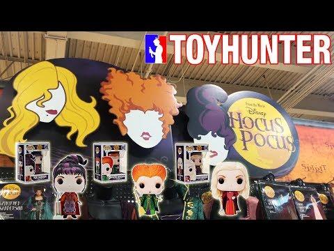 At Spirit Halloween looking for Hocus Pocus Funko Pops!