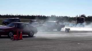 Part 8: Armdrop Drag Racing at Picton Airfield, Ontario