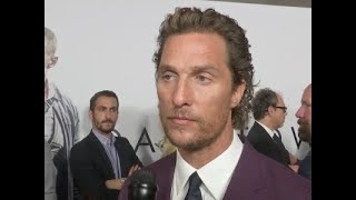Matthew McConaughey reacts to the news that Sam Shepard passed away thumbnail