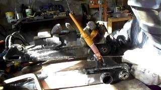 Ремонт заднего маятника мопеда Alpha.(, 2013-09-25T16:15:06.000Z)