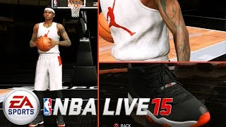 NBA Live 15 Rising Stars Mode! Character Creation - Beast PG!