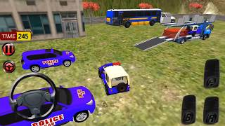 Police Car Offroad Transport Truck (Realistic Vehicules Police) Android/ios Gameplay 2018