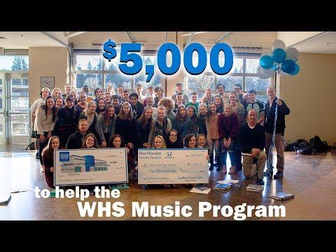 Wilsonville Honda Contributes to Wilsonville High School
