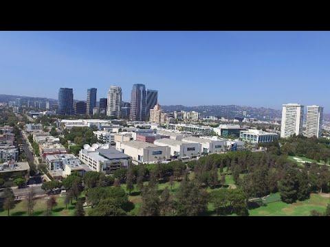 Century City--Drone Shots--Fox Studios--Rancho Park, Los Angeles, California (HD)