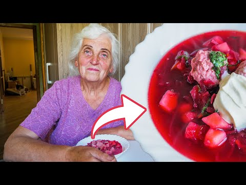 Legendary Borscht Soup - ENGLISH SUBTITLES