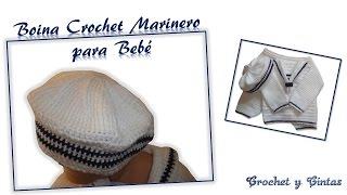 Boina Crochet para Bebé