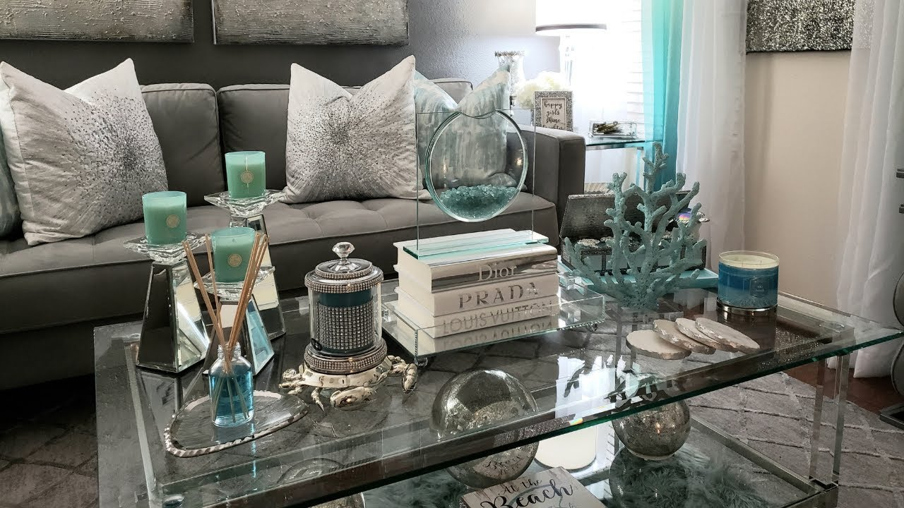 [VIDEO] - ???Coffee Table Decor and Ideas (Day and Night Looks) #glamhome 3